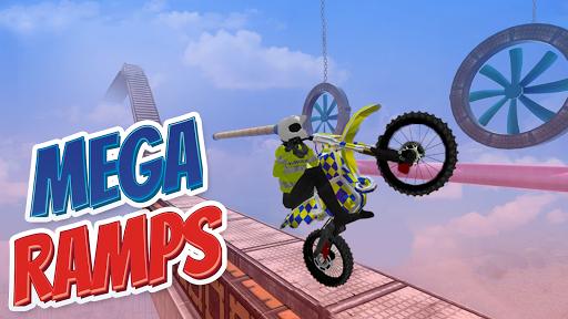 Police Bike Stunt Games : 3D Mega Ramp Stunts Game  screenshots 5