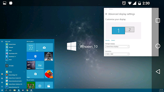 spacedesk (multi monitor display extension screen) 0.9.78 (88) (Version: 0.9.78 (88))