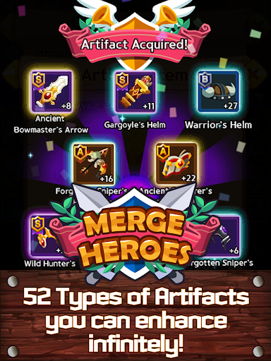 Merge Heroes Frontier: Casual RPG Online 3.3.0 screenshots 11