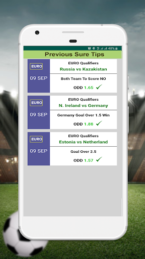 VIP Betting Tips - Expert Prediction 12.0 Screenshots 7