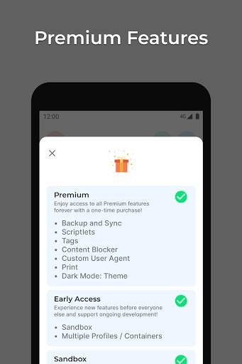 Hermit u2022 Lite Apps Browser 18.4.1 Screenshots 5