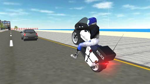 Real Police Motorbike Simulator 2020 1.7 screenshots 7