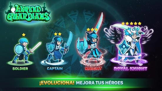 Guardiani leggendari - Screenshot Eroi epici