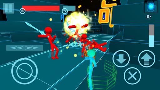 Stickman Neon Gun Warriors Apkfinish screenshots 4