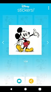 Disney Stickers: Mickey & Friends Screenshot