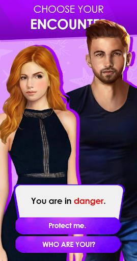 Code Triche Mysterious Lover: Interactive Romance Game (Otome) (Astuce) APK MOD screenshots 3