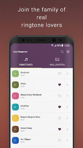 Cool Ringtones android2mod screenshots 1