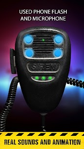 Siren sounds set: emergency siren vehicle system 2