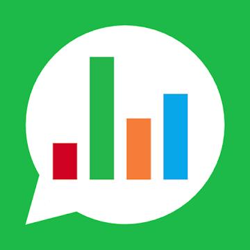 Captura de Pantalla 1 de Chat Stats para WhatsApp para android