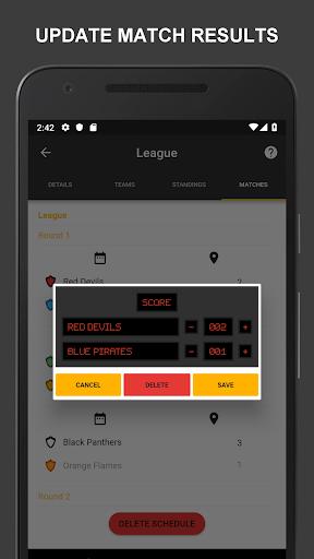 Winner - Tournament Maker App, League Manager 9.9.2 Screenshots 21