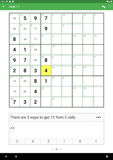 Killer Sudoku 2.0.2 screenshots 8