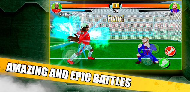 soccer fighter 2019 - free fighting games hack