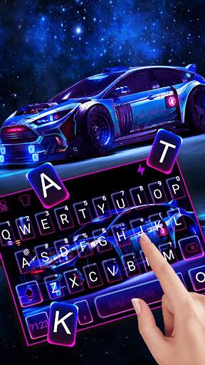 Racing Sports Car Keyboard Theme 1.0 Screenshots 2