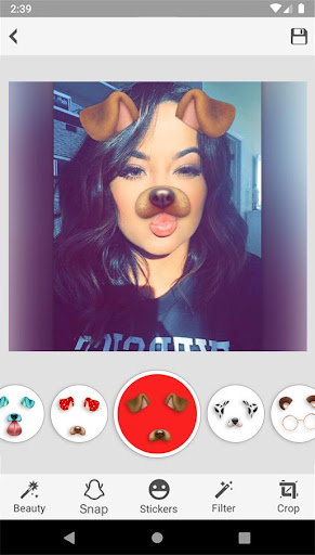 Sweet Snap Face Camera - Live Filter Selfie Edit 1.5 Screenshots 9