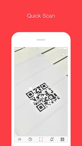 qrqr - qr code® reader screenshot 1