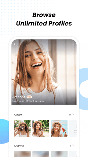 Lamour Dating, Match & Live Chat, Online Chat apktram screenshots 5