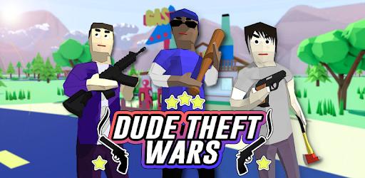 Dude Theft Wars: Online FPS Sandbox Simulator BETA Versi 0.9.0.3