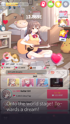 Guitar Girl : Relaxing Music Game 2.3.0 screenshots 3