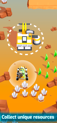 Space Rover: Idle planet mining tycoon simulator  screenshots 3