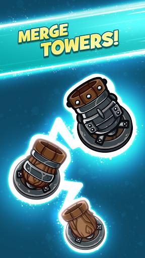 Merge Kingdoms - Tower Defense apktram screenshots 1