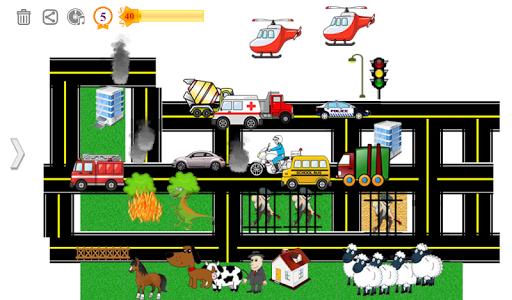 My Town 🏡🏤 City Game 🚑🚌🚜  screenshots 1