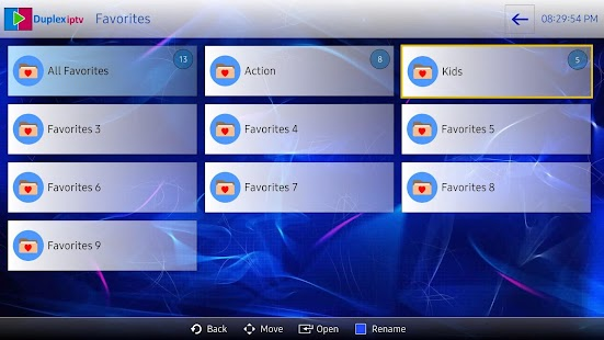 Duplex IPTV Screenshot