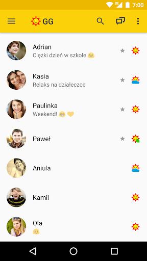 GG Messenger - Lightweight & Simple  Screenshots 1
