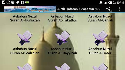 Surah Hafazan & Asbabun Nuzul For PC Windows (7, 8, 10, 10X) & Mac Computer Image Number- 15
