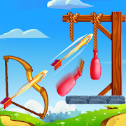 Archery Bottle Shooting Game - Hit & Knock Down