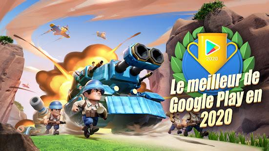 Top War: Jeu de bataille screenshots apk mod 1