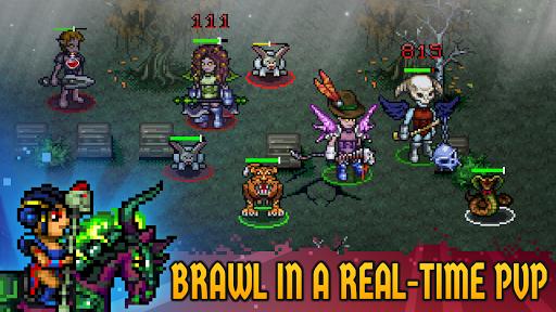 Dungeon Winners RPG u22c7 Retro Pixel Online Roguelike 1.10037 screenshots 2