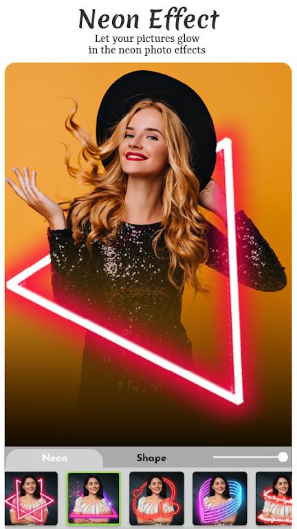 Magic Pic - Neon & Drip Photo Editor poster 0