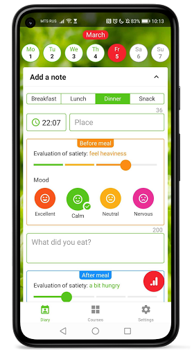 Intuitive eating — lose weight without dieting! screenshot 1