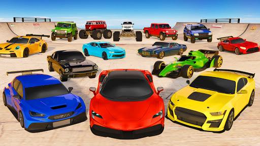 Mega Ramp Car Stunt Racing Games - Free Car Games screenshots 8