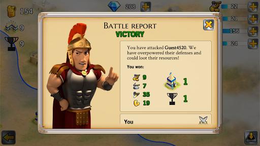 Battle Empire: Rome War Game 1.6.2 screenshots 4