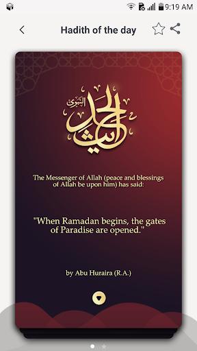 1Muslim - Prayer times, Azan, Qibla 4.7.8 Screenshots 4