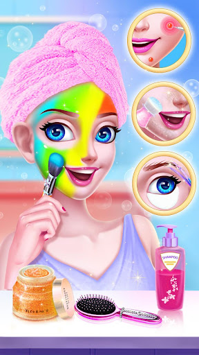 ud83dudc60ud83dudc84Gymnastics Queen - Superstar Makeup  screenshots 5