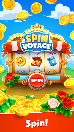 Spin Voyage: raid coins, build and master attack!  screenshots 1