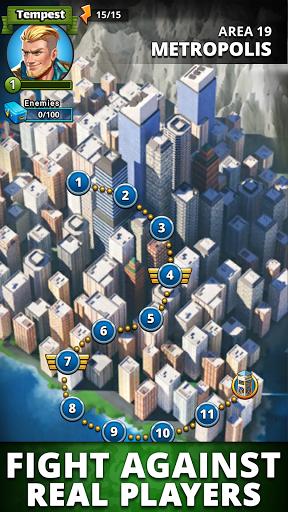 Puzzle Combat: Match-3 RPG Apkfinish screenshots 6