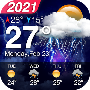 Weather Forecast - Accurate Local Weather & Widget Online PC (Windows / MAC)