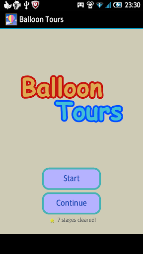 balloon tours - scrolling game screenshot 1