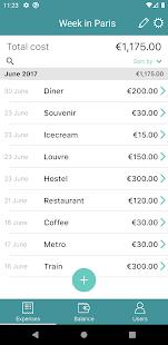 Split expenses - I owe you app (IOU).