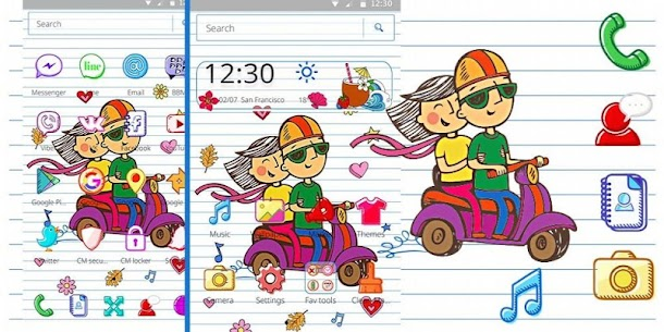 Summer Vacation Doodle Theme For Pc – Download For Windows 10, 8, 7, Mac 4