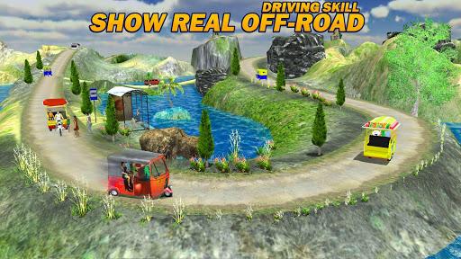Auto Tuk Tuk Rickshaw Driving Simulation Free Game  screenshots 3