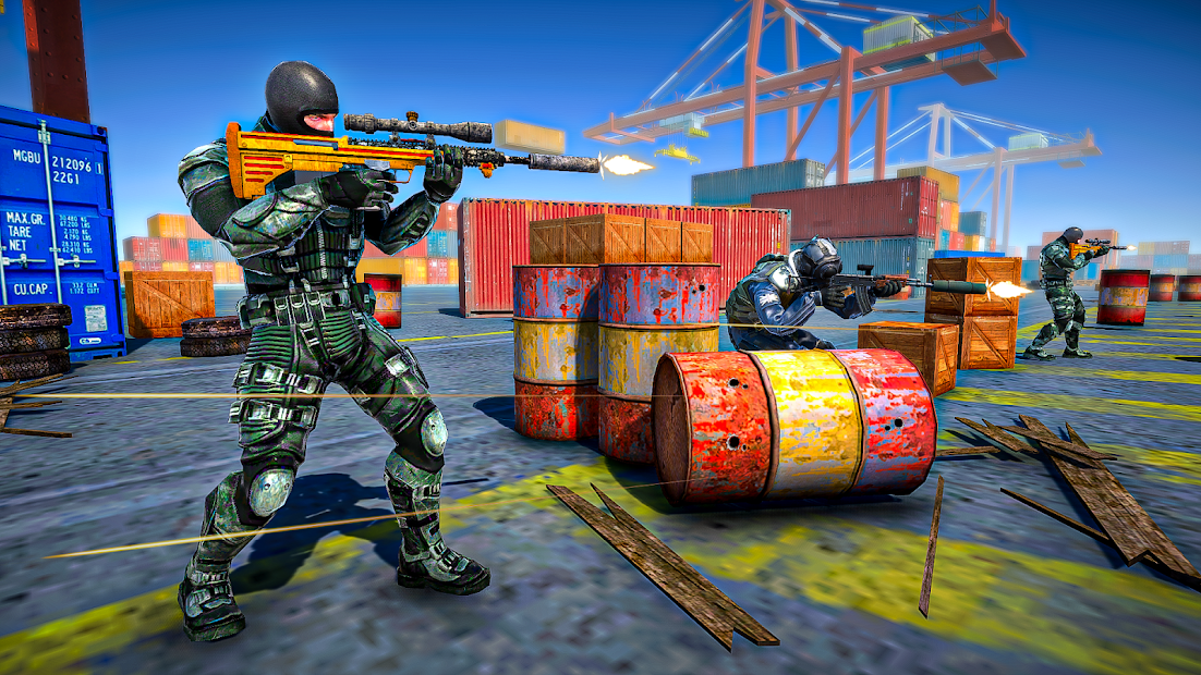 Captura de Pantalla 19 de Call of Commando Strike: Juegos de disparos para android
