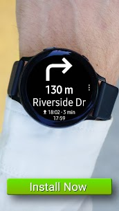 Navigation Pro: Google Maps Navi on Samsung Watch 8