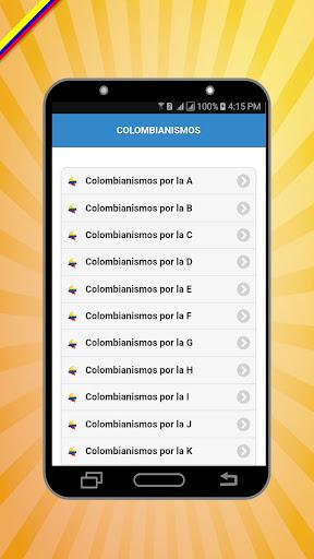 Colombianismos screenshots 1