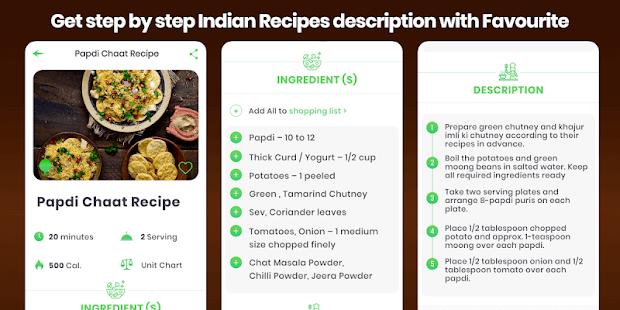 Snacks Recipes Offline Nasta Indian Street Food 2.0 screenshots 3