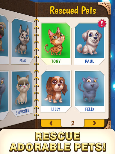 Solitaire Pets Adventure - Free Solitaire Fun Game  screenshots 21