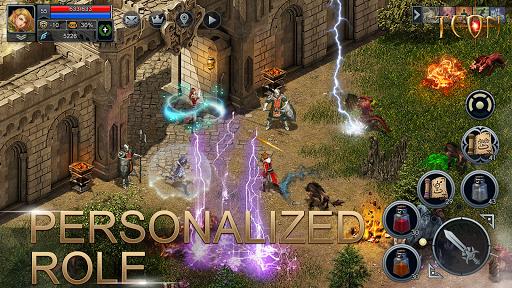 Teon: Sword & Magic apkslow screenshots 4